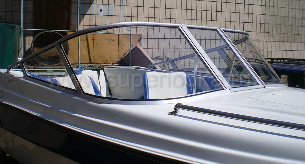 изготовление ветрового стекла бери  лодку своими руками